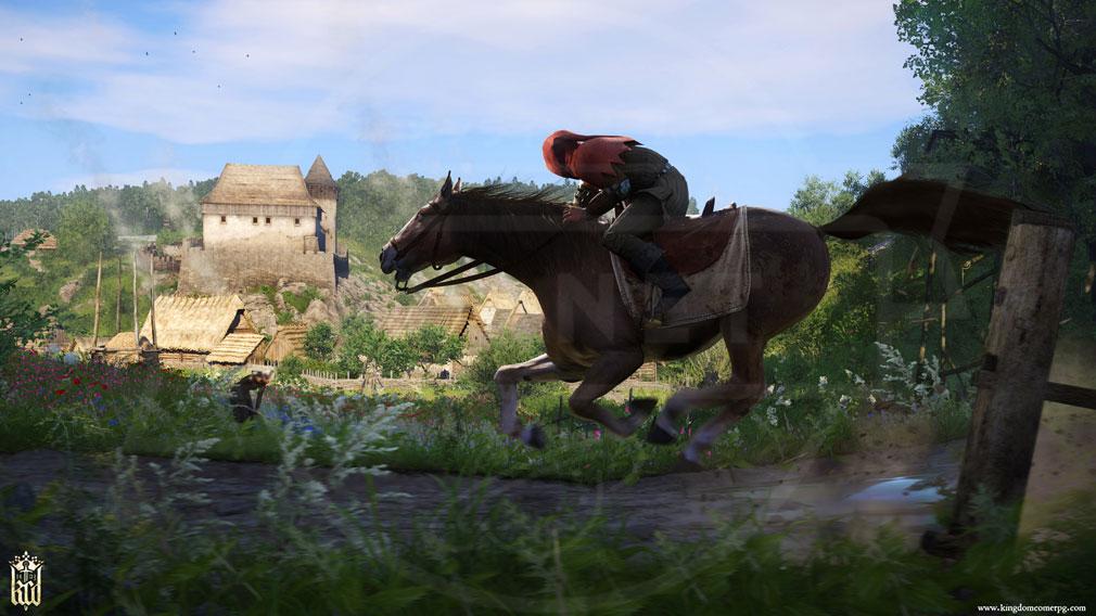 キングダムカム・デリバランス(Kingdom Come: Deliverance) 馬騎乗スクリーンショット