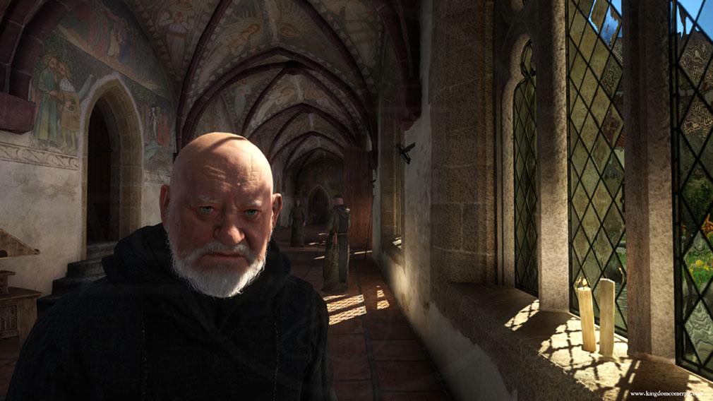 キングダムカム・デリバランス(Kingdom Come: Deliverance) 修道院に隠れている顔に傷のある男を探し出すミッションのスクリーンショット