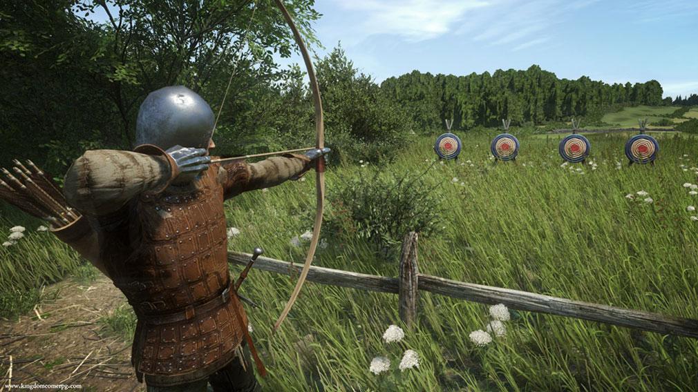 キングダムカム・デリバランス(Kingdom Come: Deliverance) 武器『弓』スクリーンショット
