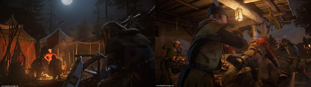 キングダムカム・デリバランス(Kingdom Come: Deliverance) 暗殺を狙うなど組織に紛れ込むスクリーンショット