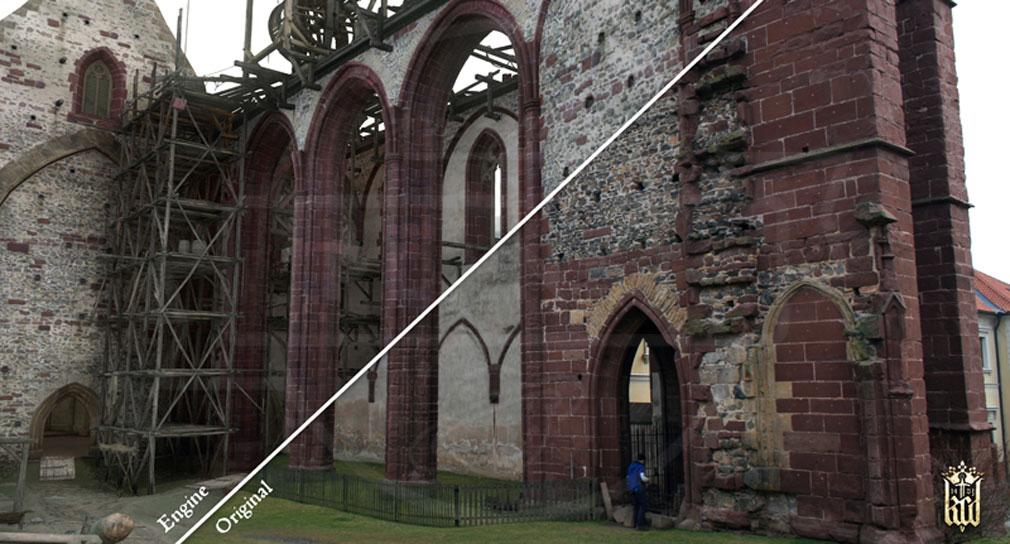 キングダムカム・デリバランス(Kingdom Come: Deliverance) 15世紀初頭のポーランドやチェコの歴史、生活様式を再現した実写とゲーム内の比較画像