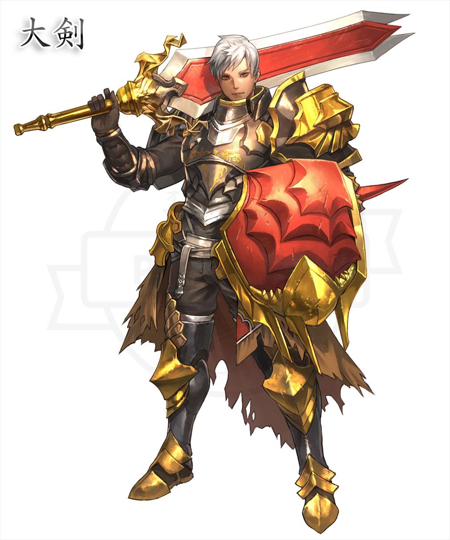 DRAGON REVENGE(ドラゴンリベンジ) 上位職『大剣』イメージ