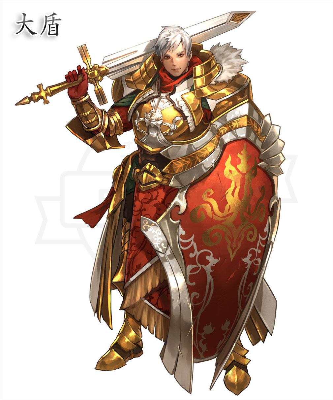 DRAGON REVENGE(ドラゴンリベンジ) 上位職『大盾』イメージ