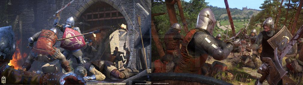 キングダムカム・デリバランス(Kingdom Come: Deliverance) 色々なシチュエーションのバトルスクリーンショット