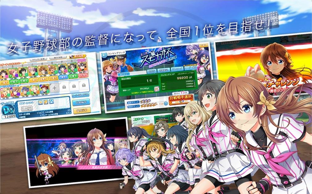 八月のシンデレラナイン(ハチナイ) PC 世界設定紹介イメージ