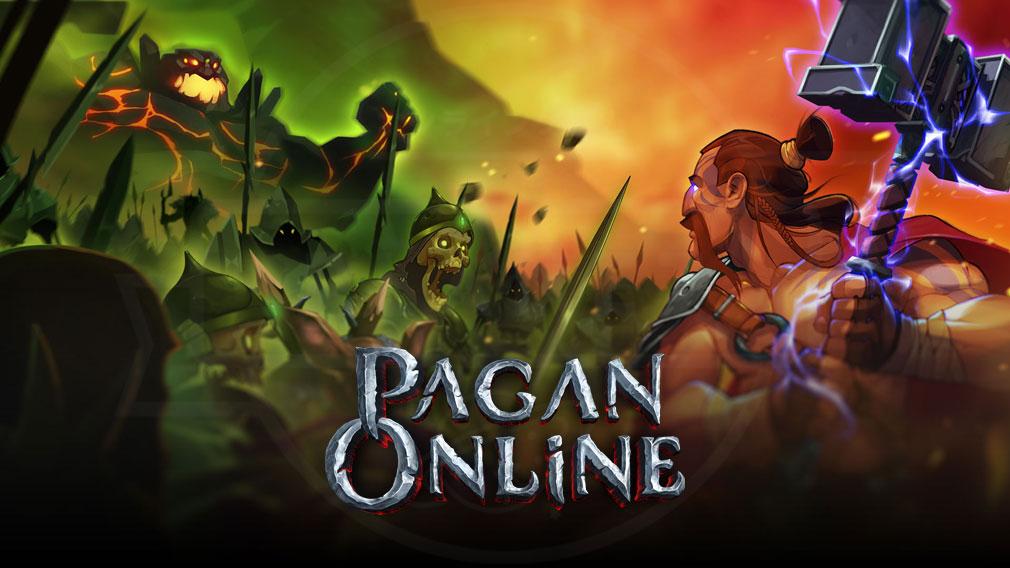 Pagan Online(ペイガン オンライン) キービジュアル