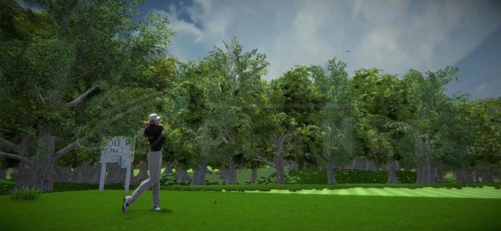ビットゴルフ(BitGolf) リアルなアニメーションスクリーンショット
