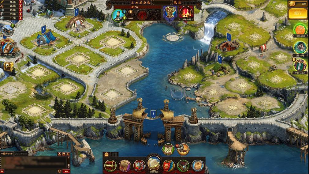 ヴァイキング -クランの戦争- PCブラウザ版のプレイスクリーンショット
