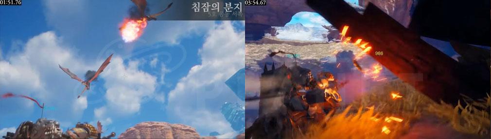 Dragonhound(ドラゴンハウンド) バトルスクリーンショット