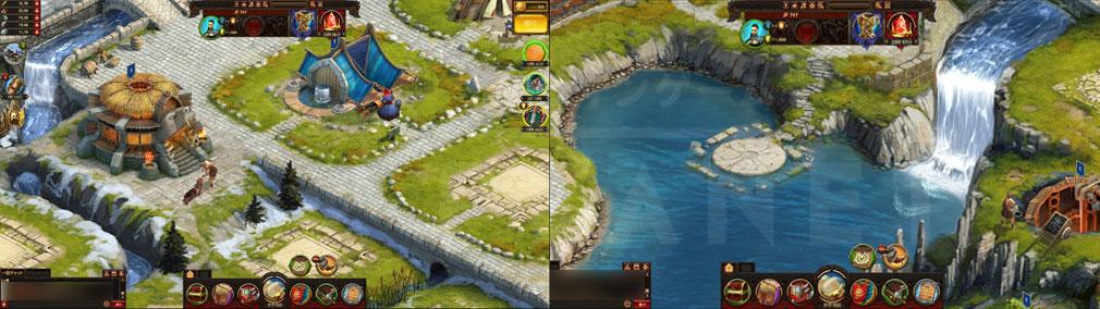 ヴァイキング -クランの戦争- 細部までこだわったグラフィックスのスクリーンショット
