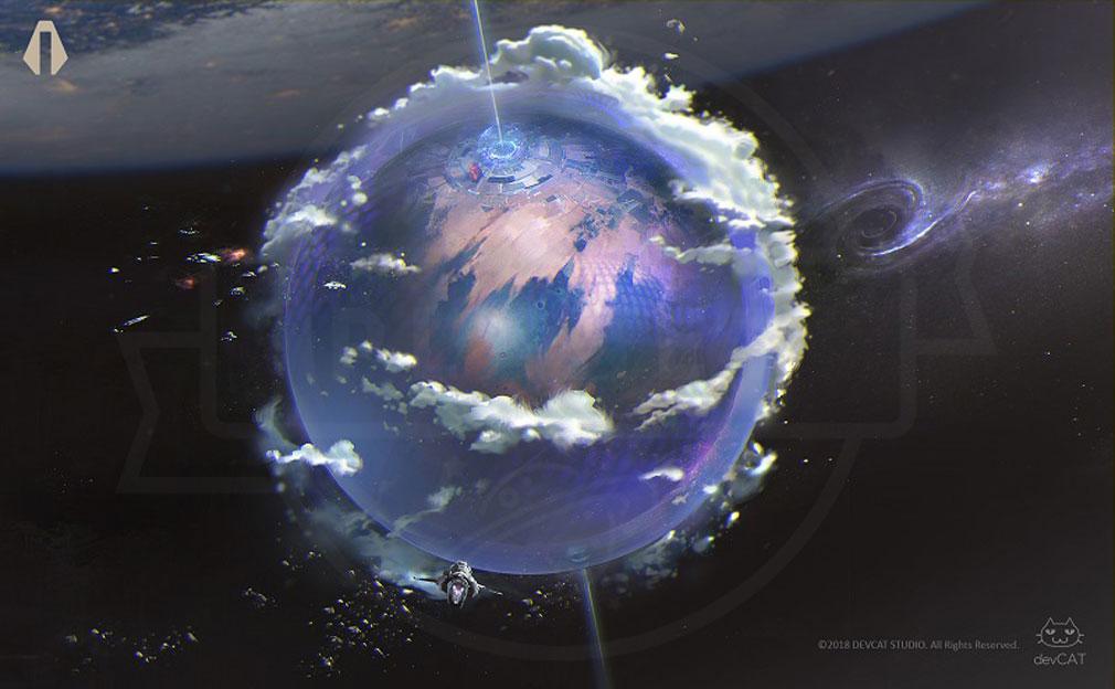 ASCENDANT ONE(アセンダント ワン) 神秘の小惑星『オリンポス』世界観イメージ