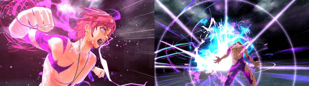 シンエンレジスト 『キョウジン化』の3DCGバトルスクリーンショット