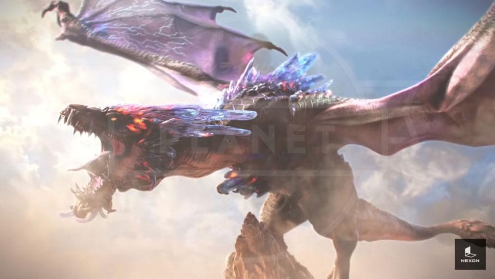Dragonhound(ドラゴンハウンド) 巨大ドラゴンイメージ