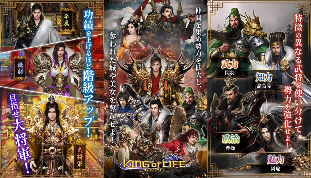 キングオブライフ -King of Life- ゲーム概要紹介イメージ