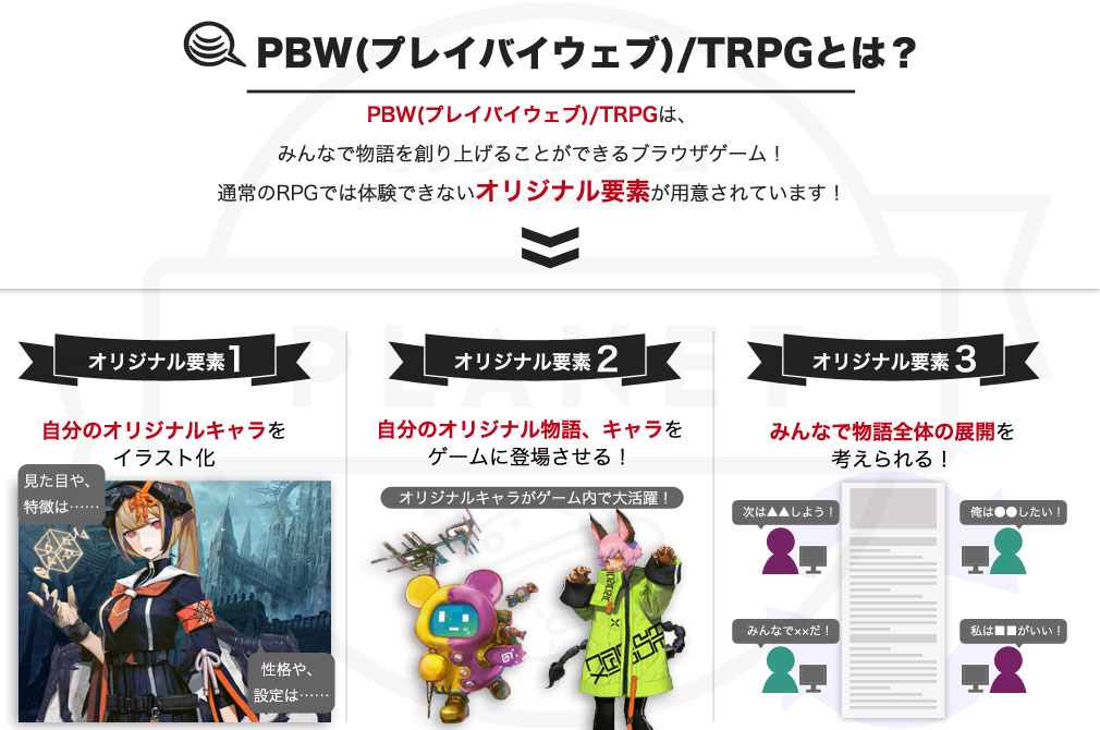 第六猟兵 -JAEGER SIXTH- PBW(プレイバイウェブ)/TRPGについての詳細イメージ