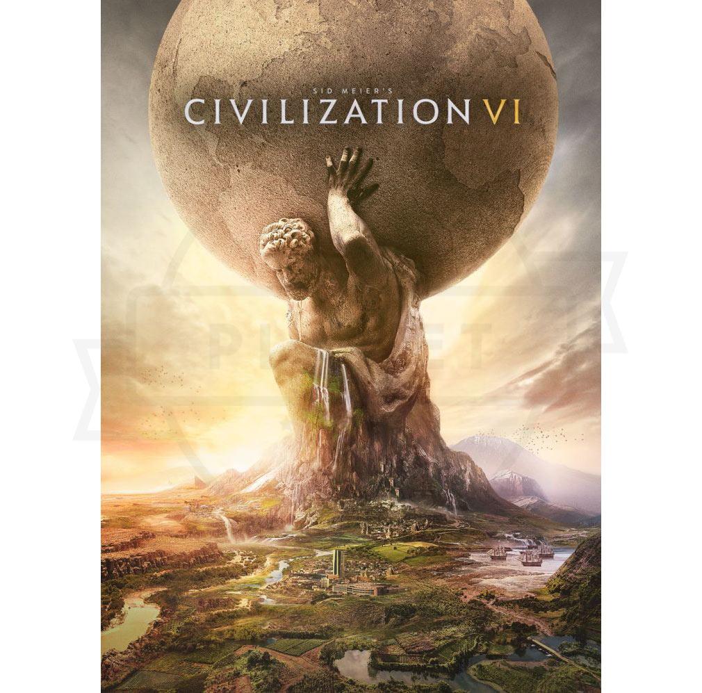 シドマイヤーズ シヴィライゼーション6 (Sid Meier's Civilization VI Gold Edition)Civ6 PC キービジュアル