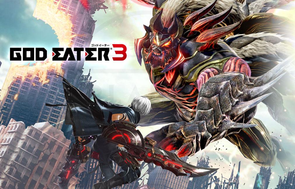 GOD EATER 3(ゴッドイーター3)  GE3 PC キービジュアル
