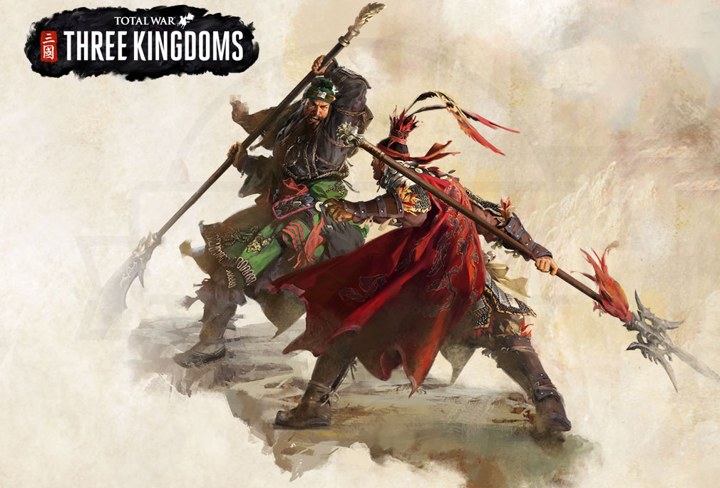 Total War: THREE KINGDOMS (Win PC) キービジュアル