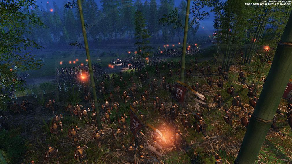 Total War: THREE KINGDOMS (Win PC) 軍隊ユニットを操作して戦闘を行うスクリーンショット