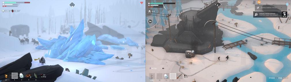 Project Winter PC 氷塊、水没地帯のスクリーンショット