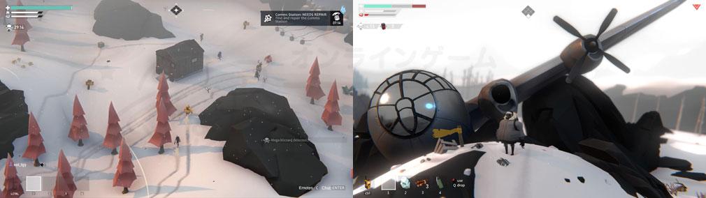 Project Winter PC 遠方視点、通常視点スクリーンショット
