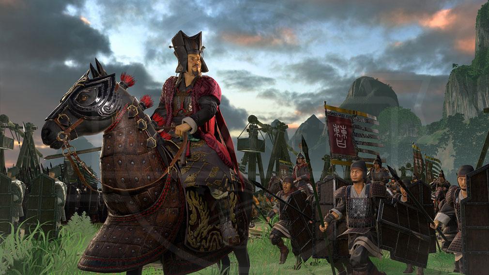 Total War: THREE KINGDOMS (Win PC) キャラクターグラフィックススクリーンショット