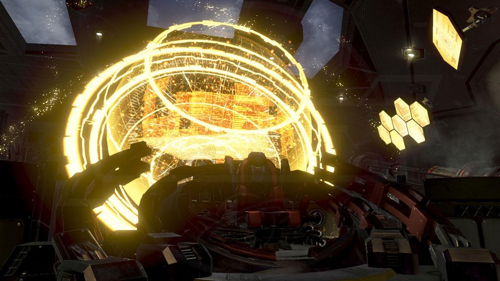 GOD EATER 3(ゴッドイーター3) GE3 PC 『灰域踏破船』に搭載されている感応レーダースクリーンショット