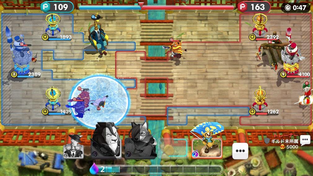 ウィムジカル ウォー(Whimsical War) PC スキル発動スクリーンショット