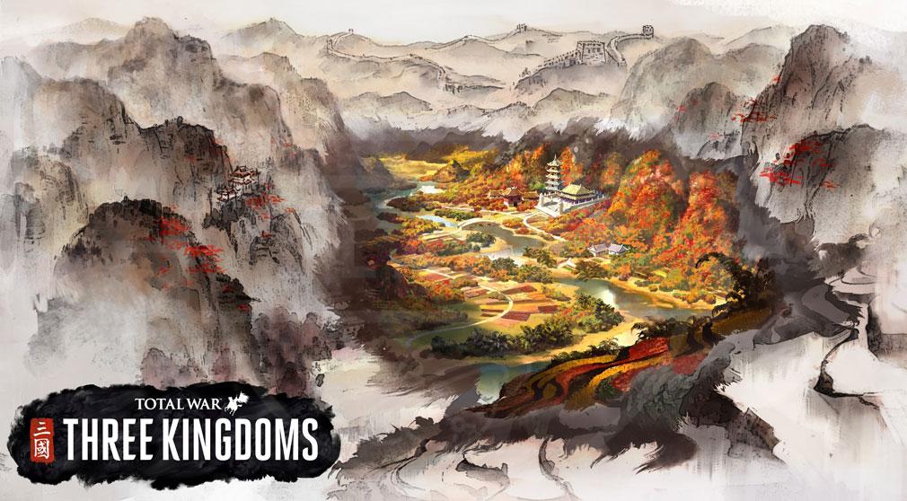 Total War: THREE KINGDOMS (Win PC) 中国大陸が舞台のアートワーク