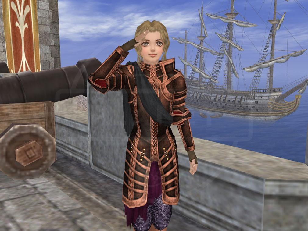 大航海時代 Online Lost Memories (ロスト メモリーズ) 専用装備『コマンダープレート』スクリーンショット