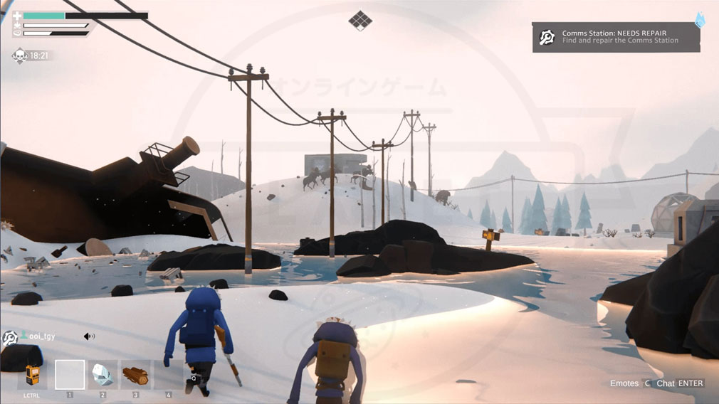 Project Winter PC 水没地帯のスクリーンショット