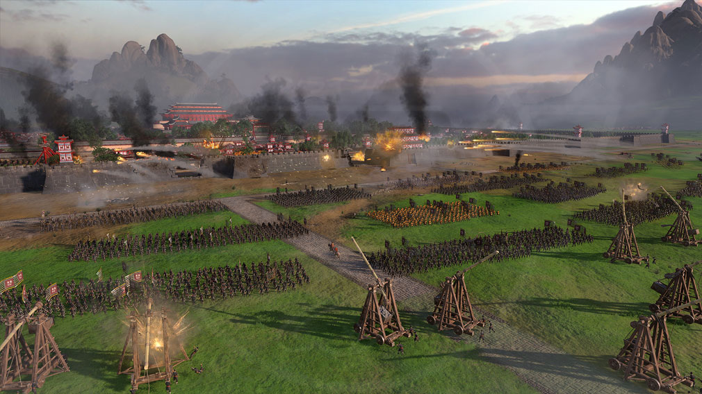 Total War: THREE KINGDOMS (Win PC) 古代中国が戦場になった数万人規模のバトルスクリーンショット