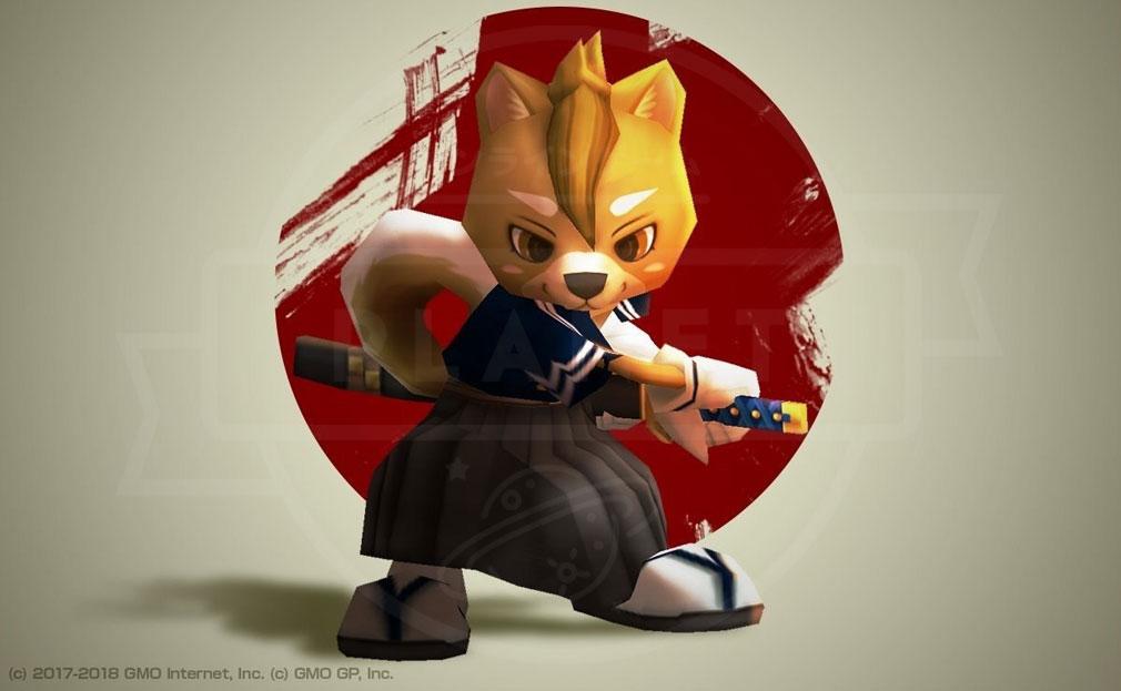 ウィムジカル ウォー(Whimsical War) PC キャラクター『シバロウ(シバイヌ)』イメージ