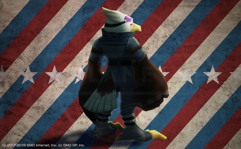 ウィムジカル ウォー(Whimsical War) PC キャラクター『ボルド(ハクトウワシ)』イメージ