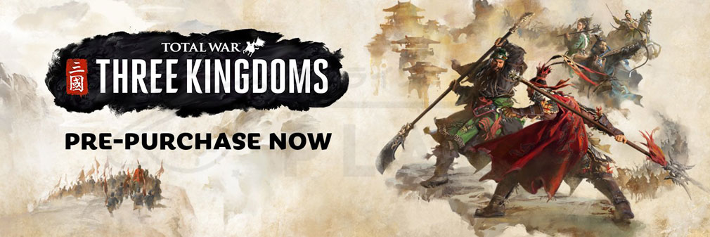 Total War: THREE KINGDOMS (Win PC) フッターイメージ