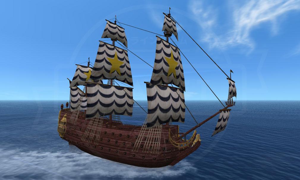 大航海時代 Online Lost Memories (ロスト メモリーズ) 海事船『クロナン』スクリーンショット