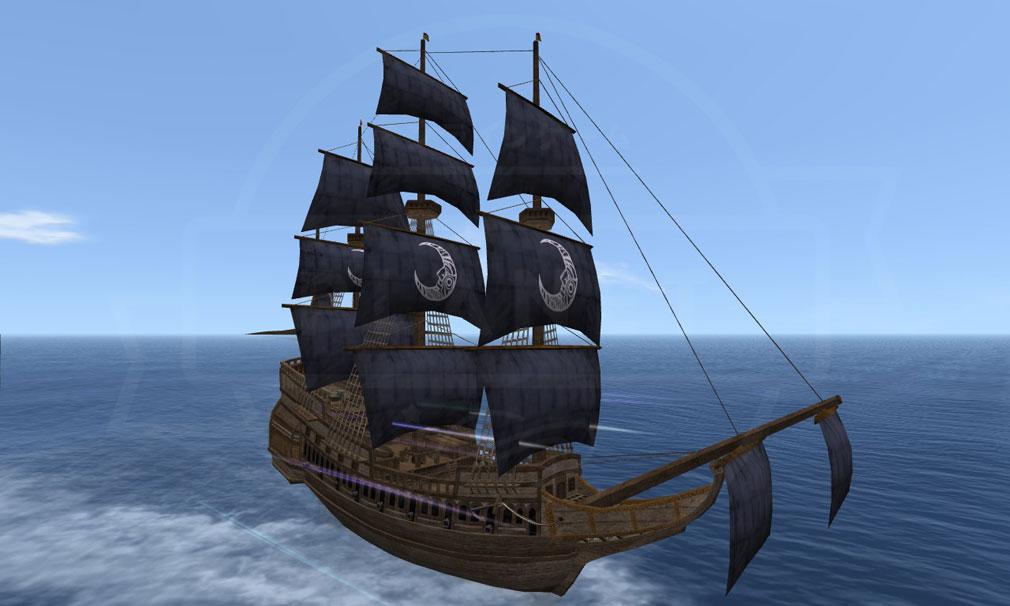 大航海時代 Online Lost Memories (ロスト メモリーズ) 冒険船『マーチャントローヤル』スクリーンショット