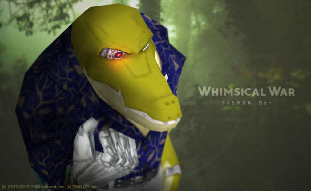ウィムジカル ウォー(Whimsical War) PC キャラクター『ザグナン(イリエワニ)』イメージ