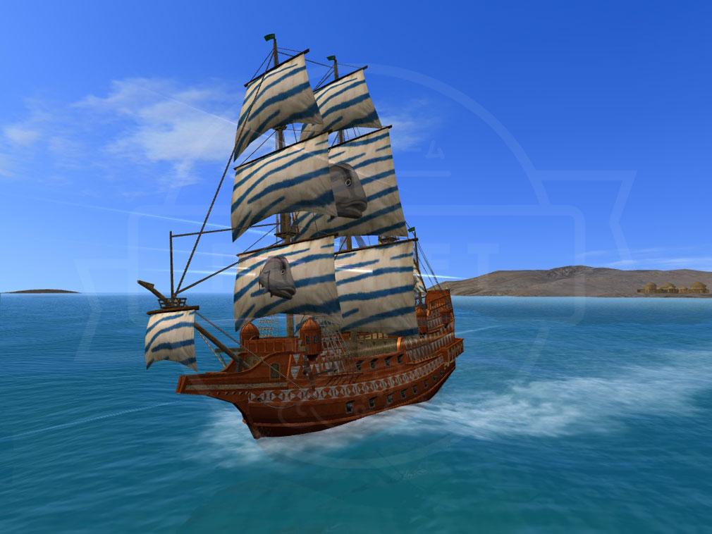 大航海時代 Online Lost Memories (ロスト メモリーズ) 海事船『アークロイヤル』スクリーンショット