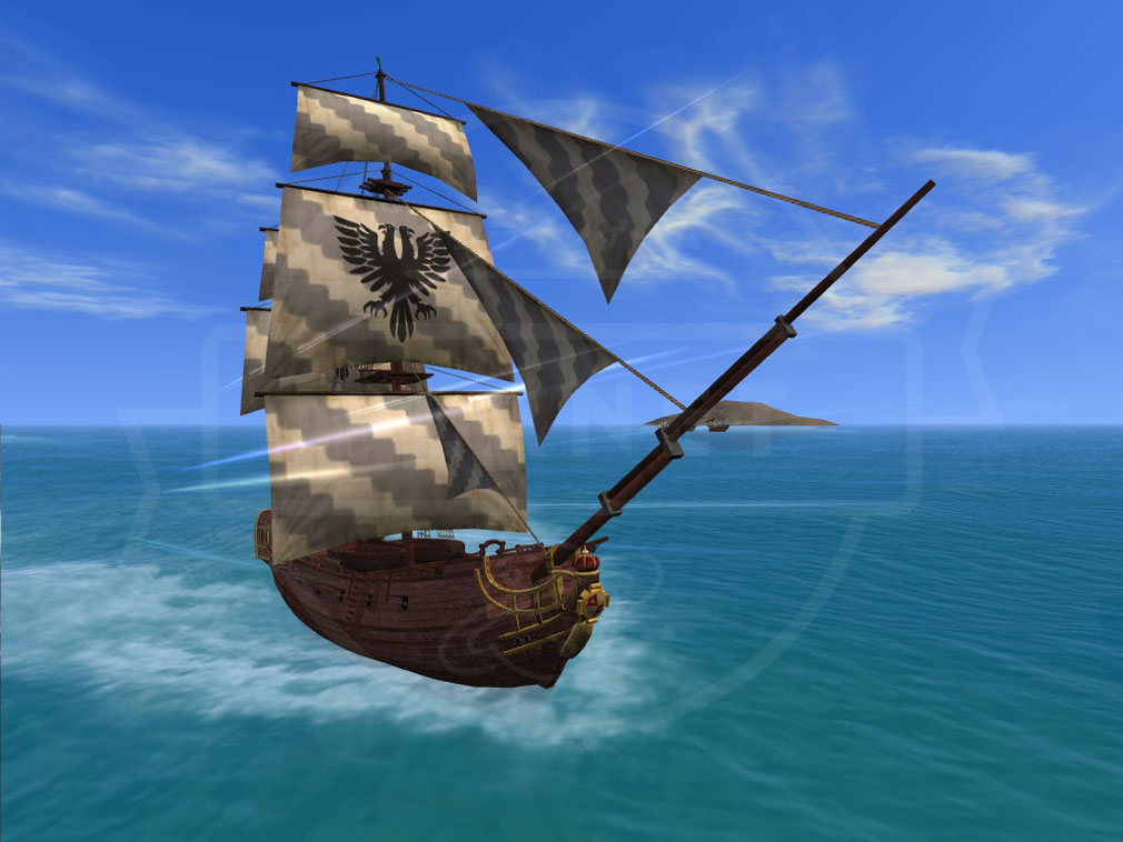 大航海時代 Online Lost Memories (ロスト メモリーズ) 交易船『カカフエゴ』スクリーンショット