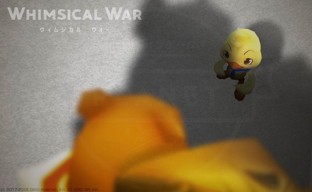 ウィムジカル ウォー(Whimsical War) PC キャラクター『クラーオ(ヒヨコ)』イメージ