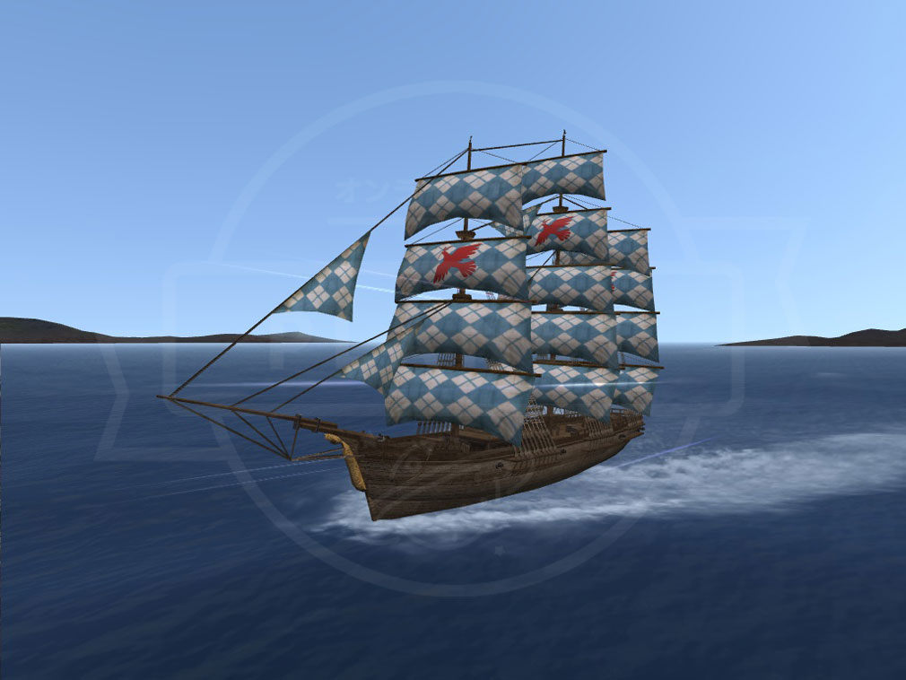 大航海時代 Online Lost Memories (ロスト メモリーズ) 冒険船『スノースコール』スクリーンショット