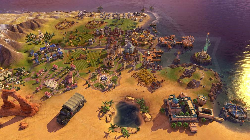 シドマイヤーズ シヴィライゼーション6 (Sid Meier's Civilization VI)Civ6 PC 総督の統治スクリーンショット