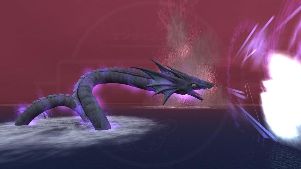 大航海時代 Online Lost Memories (ロスト メモリーズ) 幻獣『リヴァイアサン』スクリーンショット