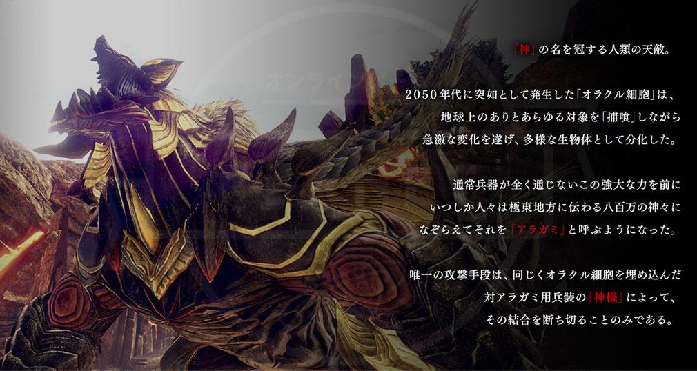 GOD EATER 3(ゴッドイーター3) GE3 PC 『アラガミ』紹介イメージ