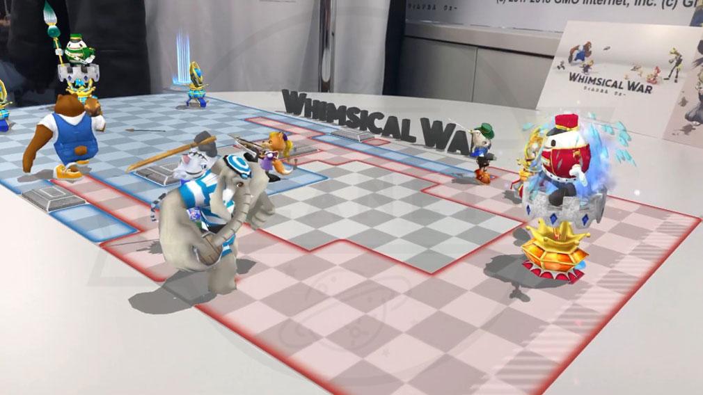 ウィムジカル ウォー(Whimsical War) PC 『ARキャラクター表示機能』スクリーンショット
