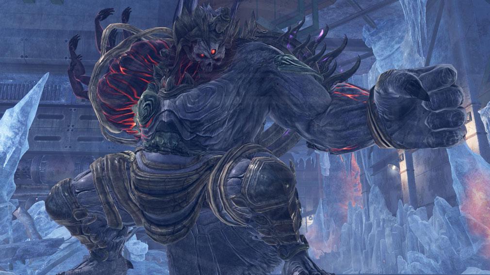 GOD EATER 3(ゴッドイーター3) GE3 PC 灰域種アラガミ『ヌァザ』スクリーンショット