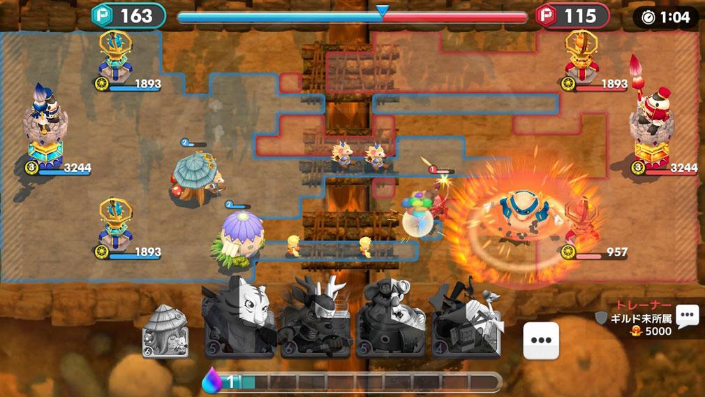 ウィムジカル ウォー(Whimsical War) PC バトルスクリーンショット