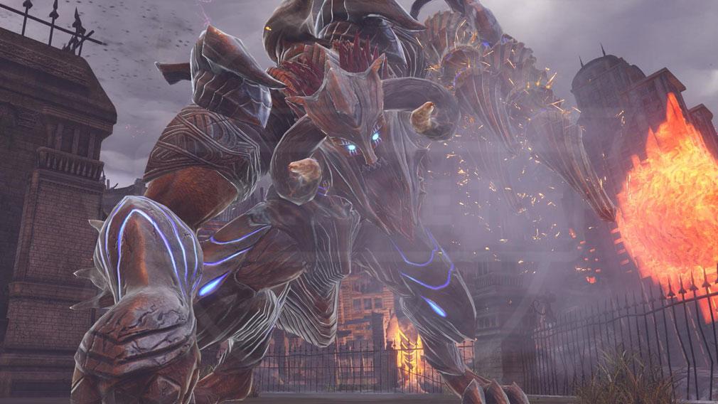 GOD EATER 3(ゴッドイーター3) GE3 PC 新アラガミ『バルバルス』スクリーンショット
