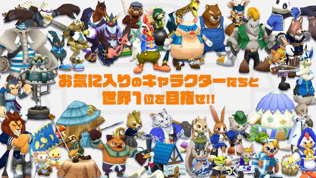 ウィムジカル ウォー(Whimsical War) PC キャラクター紹介イメージ